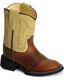 Old West Toddlers' Comfort Western Boots