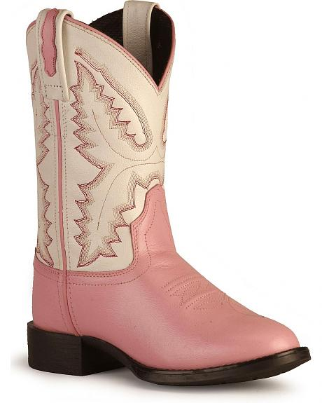 Children's Ultra Flex Western Boots - Round Toe