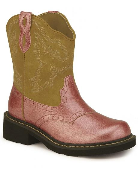 Roper Children's Pink Cowgirl Boots