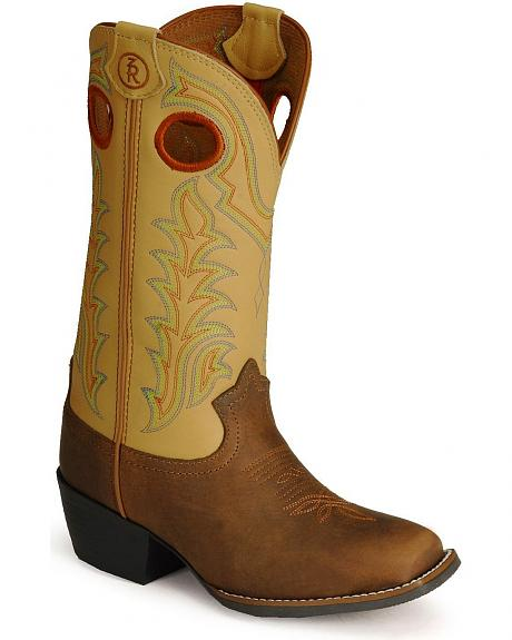 Tony Lama Children'sTony Lama 3R Buckaroo Boot - Square Toe