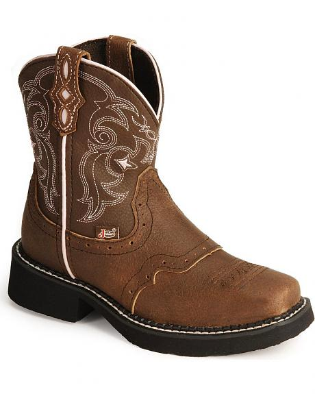 Justin Children's Gypsy Cowboy Boots - Square Toe