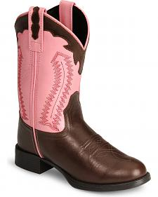 Old West Children's Ultra Flex Cowgirl Boots