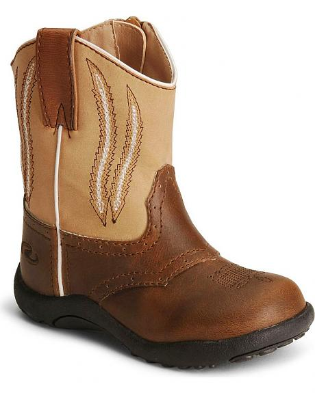 Roper Infant Boys' Brown Chunklet Cowboy Boots
