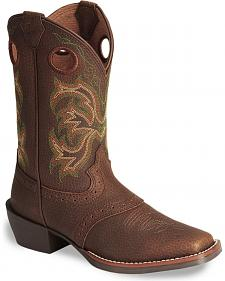 Justin Youth Boys' Junior Stampede Cowboy Boots