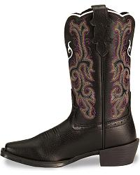 Justin Children's Junior Stampede Cowboy Boots at Sheplers