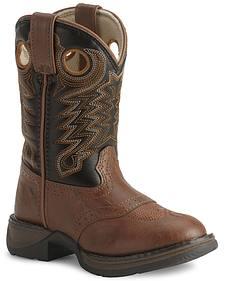 Durango Boys' Lil Rebel Cowboy Boots - Round Toe