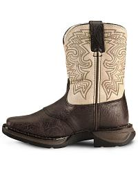 Durango Children's Brown Lil' Rebel Cowboy Boot at Sheplers