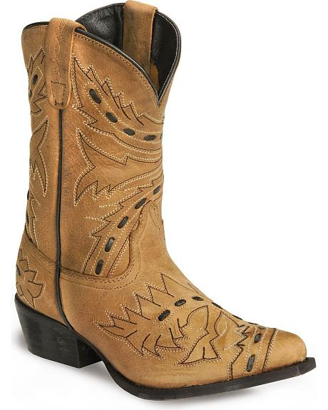 Dan Post Children's Bucklace Sidewinder Cowboy Boots
