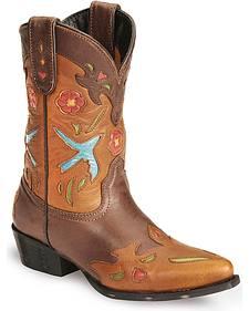 Dan Post Children's Bluebird Underlay & Wingtip Cowboy Boots