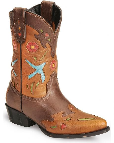 Dan Post Children's Bluebird Underlay & Wingtip Cowboy Boots