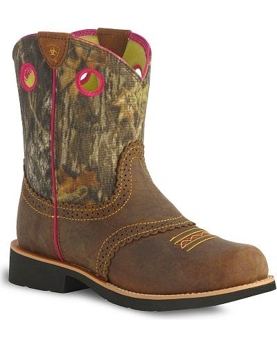 Ariat Childrens Fatbaby Cowgirl Boots