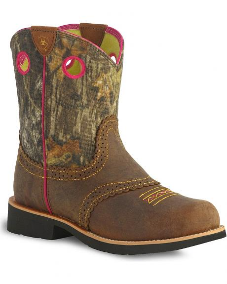 Ariat Children's Fatbaby Cowgirl Boots