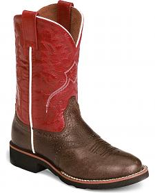 Ariat Boys' Heritage Pro-Crepe Cowboy Boots - Round Toe
