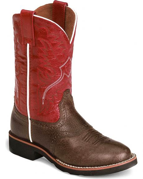 Ariat Youth Heritage Pro-Crepe Cowboy Boot - Round Toe