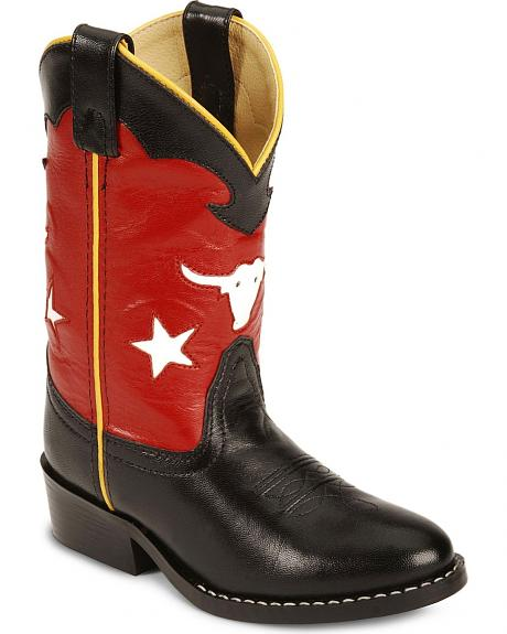 Smoky Mountain Toddlers' Bulldog Cowboy Boots