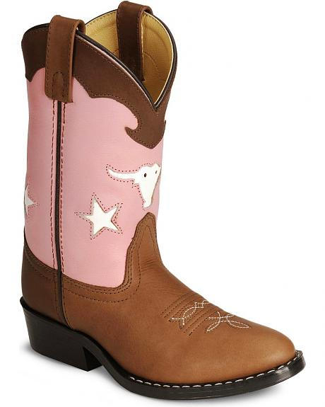Smoky Mountain Children's Bulldog Cowboy Boots