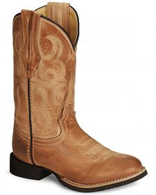 Smoky Mountain Youth Showdown Cowboy Boots - Round Toe