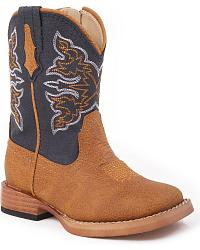 Roper Toddlers' Navy Cowboy Boots at Sheplers