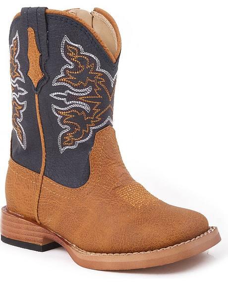 Roper Infants' Navy Cowboy Boots