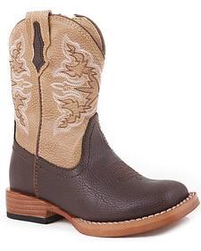 Roper Infants' Tan Cowboy Boots