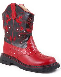 Roper Girls' Light Up Cowgirl Boots at Sheplers