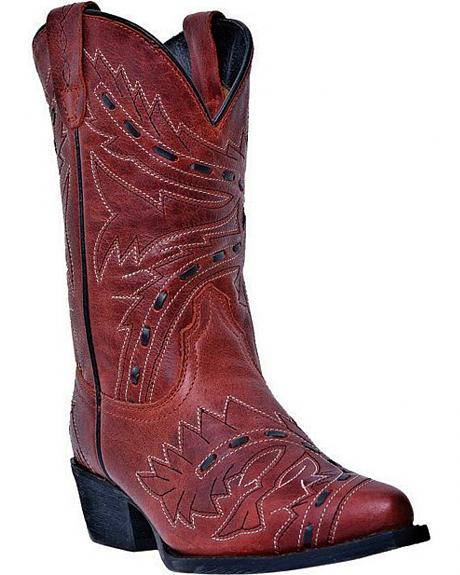 Dan Post Children's Sidewinder Cowgirl Boots - Snip Toe
