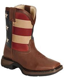 Durango Children's American Flag Lil Flirt Cowboy Boots