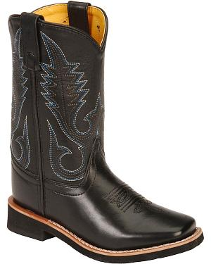 Smoky Mountain Youth Western Boots - Square Toe