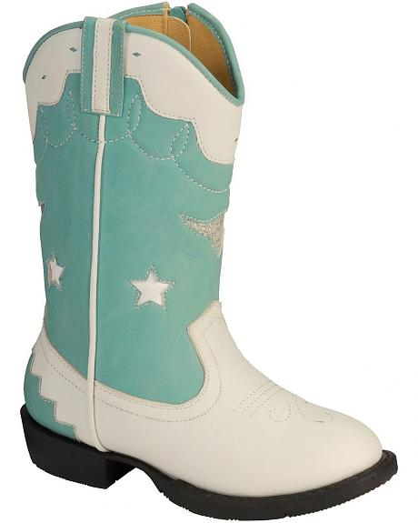 Smoky Mountain Children's Austin Lights w/Stars Cowgirl Boots