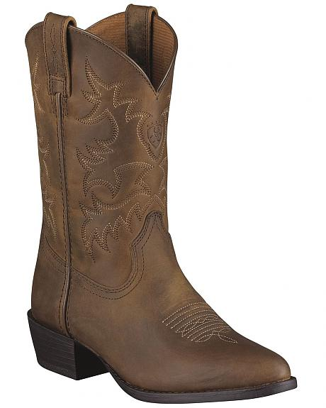 Ariat Boys' Heritage Western Boots