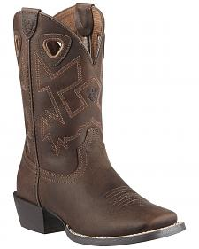 Ariat Youth Boys' Charger Distressed Cowboy Boots