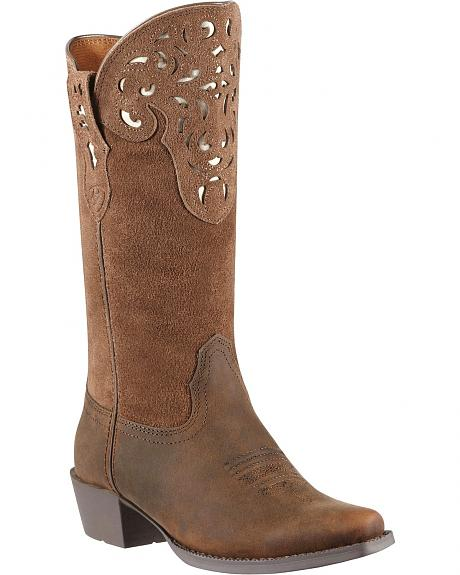 Ariat Youth Hacienda Riding Boots