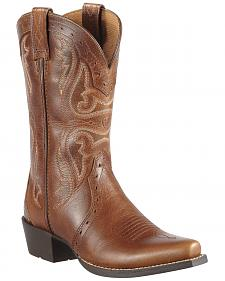 Ariat Girls' Heritage Vintage Cedar Cowgirl Boots