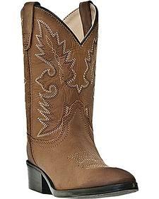 Dan Post Boys' Shane Cowboy Boots - Round Toe