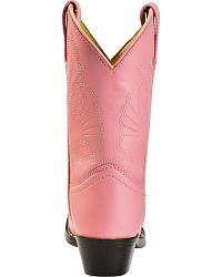 Red Ranch Girls' Pink Cowgirl Boots - Round Toe at Sheplers