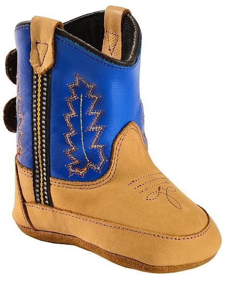 Old West Infant Boys' Blue Poppets