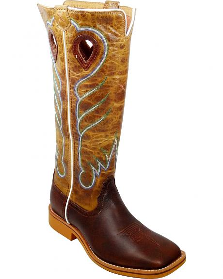 Twisted X Youth Buckaroo Cowboy Boots - Square Toe