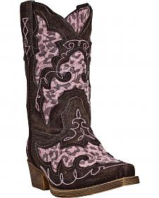 Laredo Girls' Sabre Cowgirl Boots - Pointed Toe