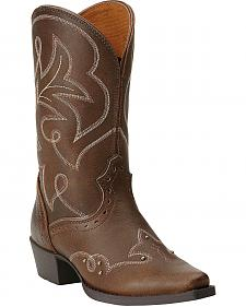 Ariat Girls' Spellbound Cowgirl Boots - Snip Toe