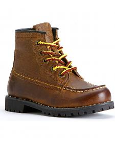 Fyre Boys' Dakota Mid Lace Boots