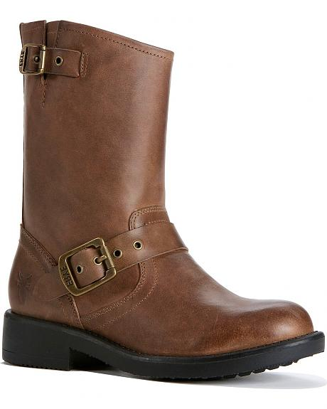Frye Girls' Engineer Pull-on Boots