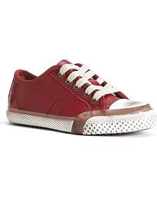 Frye Boys' Greene Low Lace Shoes