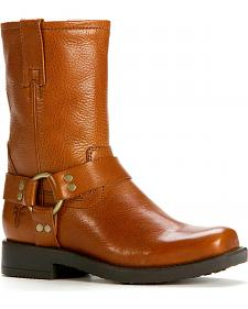 Frye Boys' Harness Pull-On Boots