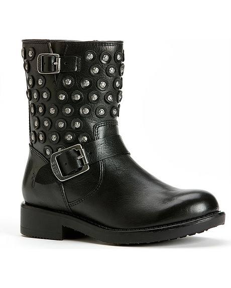 Frye Girls' Jenna Disc Short Boots