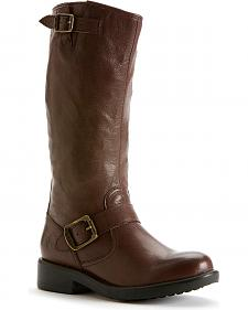 Frye Girls' Veronica Slouch Harness Boots