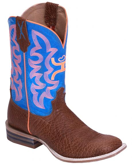 Twisted X Boys' Neon Cowboy Boots - Wide Square Toe