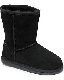 Dije California Girls' Sheepskin Classic Boots