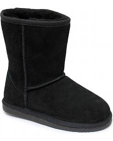 Dije California Girls' Sheepskin Classic Boots