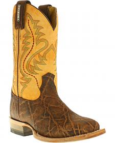 Cinch Boys' Elephant Print Boots - Square Toe