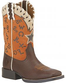 Ariat Pete Children's Boots - Square Toe